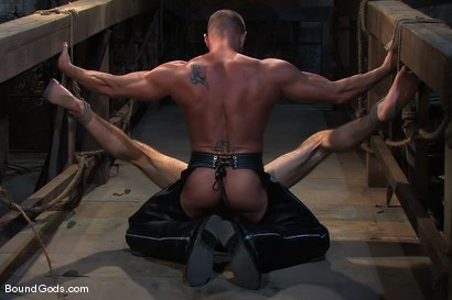 Photo number 12 from The Sailor shot for Bound Gods on Kink.com. Featuring Tyler Saint and DJ in hardcore BDSM & Fetish porn.