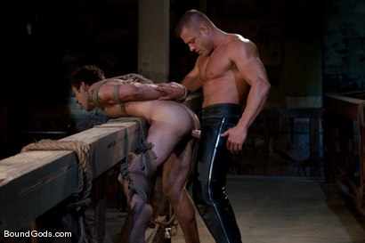 Photo number 14 from The Drunken Sailor shot for Bound Gods on Kink.com. Featuring Tyler Saint and DJ in hardcore BDSM & Fetish porn.