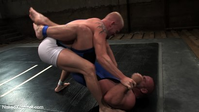 Photo number 1 from Luke Riley vs Samuel Colt shot for Naked Kombat on Kink.com. Featuring Luke Riley and Samuel Colt in hardcore BDSM & Fetish porn.