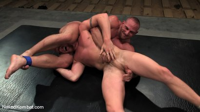 Photo number 10 from Luke Riley vs Samuel Colt shot for Naked Kombat on Kink.com. Featuring Luke Riley and Samuel Colt in hardcore BDSM & Fetish porn.