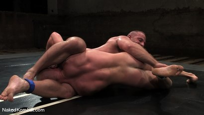 Photo number 5 from Luke Riley vs Samuel Colt shot for Naked Kombat on Kink.com. Featuring Luke Riley and Samuel Colt in hardcore BDSM & Fetish porn.