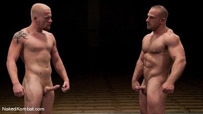 Photo number 15 from Luke Riley vs Samuel Colt shot for Naked Kombat on Kink.com. Featuring Luke Riley and Samuel Colt in hardcore BDSM & Fetish porn.