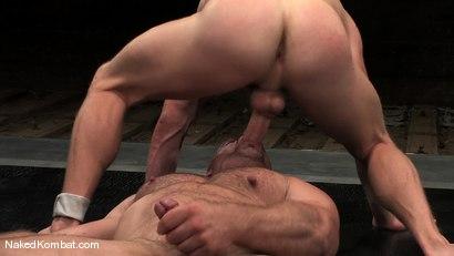 Photo number 9 from Luke Riley vs Samuel Colt shot for Naked Kombat on Kink.com. Featuring Luke Riley and Samuel Colt in hardcore BDSM & Fetish porn.