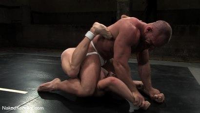 Photo number 3 from Luke Riley vs Samuel Colt shot for Naked Kombat on Kink.com. Featuring Luke Riley and Samuel Colt in hardcore BDSM & Fetish porn.