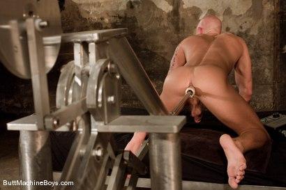 Photo number 10 from Muscle Stud and His Toys shot for Butt Machine Boys on Kink.com. Featuring Drake Jaden in hardcore BDSM & Fetish porn.