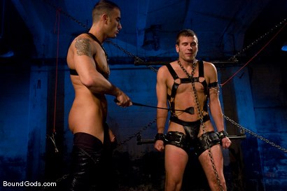 Photo number 10 from The Onyx and The Redz shot for Bound Gods on Kink.com. Featuring Spencer Reed and Derrek Diamond in hardcore BDSM & Fetish porn.