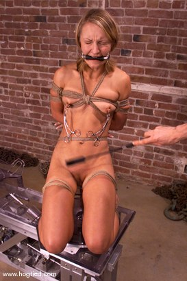 Photo number 4 from Jasmine shot for Hogtied on Kink.com. Featuring Jasmine in hardcore BDSM & Fetish porn.