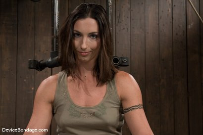 Photo number 2 from Wenona<br> What would you do to her if you had 1 hour? shot for Device Bondage on Kink.com. Featuring Wenona in hardcore BDSM & Fetish porn.