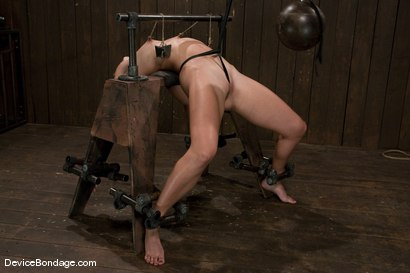 Photo number 13 from Wenona<br>former All-American Gymnast shot for Device Bondage on Kink.com. Featuring Wenona in hardcore BDSM & Fetish porn.
