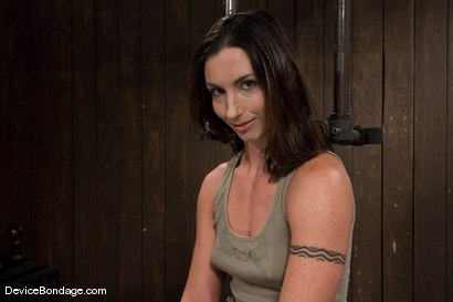 Photo number 2 from Wenona<br>former All-American Gymnast shot for Device Bondage on Kink.com. Featuring Wenona in hardcore BDSM & Fetish porn.