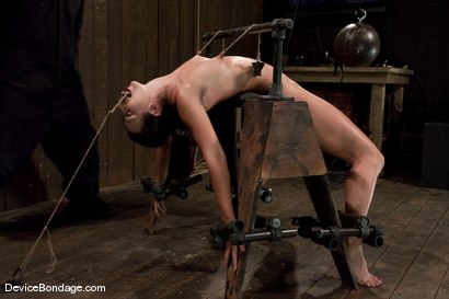 Photo number 10 from Wenona<br>former All-American Gymnast shot for Device Bondage on Kink.com. Featuring Wenona in hardcore BDSM & Fetish porn.