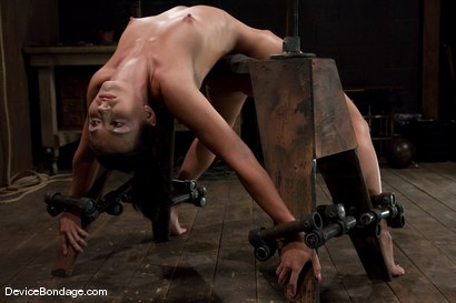 Photo number 3 from Wenona<br>former All-American Gymnast shot for Device Bondage on Kink.com. Featuring Wenona in hardcore BDSM & Fetish porn.