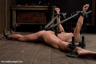 Photo number 1 from Wenona   Former Gymnast ass hooked to hell. shot for Device Bondage on Kink.com. Featuring Wenona in hardcore BDSM & Fetish porn.