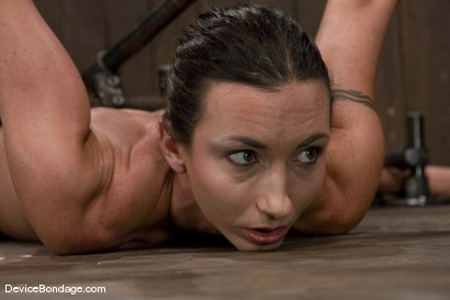 Photo number 6 from Wenona   Former Gymnast ass hooked to hell. shot for Device Bondage on Kink.com. Featuring Wenona in hardcore BDSM & Fetish porn.