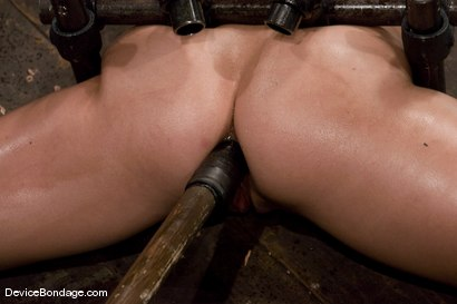 Photo number 7 from Wenona   Former Gymnast ass hooked to hell. shot for Device Bondage on Kink.com. Featuring Wenona in hardcore BDSM & Fetish porn.