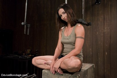 Photo number 2 from Wenona<br> Former Gymnast ass hooked to hell. shot for Device Bondage on Kink.com. Featuring Wenona in hardcore BDSM & Fetish porn.