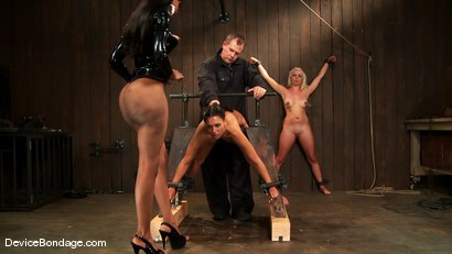 Photo number 1 from Jade Indica, Lorelei Lee and Sexy Jade<br> Part 3 of 4 of the June Live Feed shot for Device Bondage on Kink.com. Featuring Lorelei Lee, Miss Jade Indica and Sexy Jade in hardcore BDSM & Fetish porn.