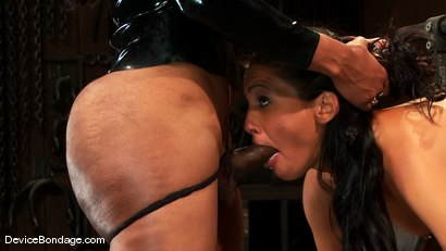 Photo number 3 from Jade Indica, Lorelei Lee and Sexy Jade<br> Part 3 of 4 of the June Live Feed shot for Device Bondage on Kink.com. Featuring Lorelei Lee, Miss Jade Indica and Sexy Jade in hardcore BDSM & Fetish porn.
