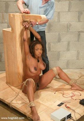 Photo number 10 from Sinnamon Love shot for Hogtied on Kink.com. Featuring Sinnamon Love in hardcore BDSM & Fetish porn.