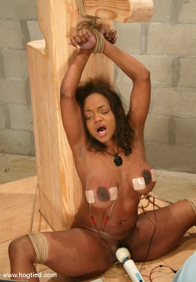 Photo number 12 from Sinnamon Love shot for Hogtied on Kink.com. Featuring Sinnamon Love in hardcore BDSM & Fetish porn.