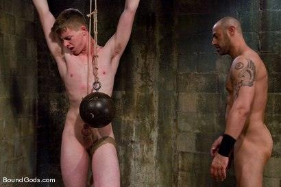 Photo number 11 from The Perv and His Sk8ter Boy shot for Bound Gods on Kink.com. Featuring CJ Madison and Aaron Adams in hardcore BDSM & Fetish porn.