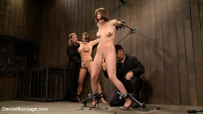 Photo number 7 from Dana DeArmond, Nika Noire and Ariel X<br>Part 1 of 4 of the May Live Feed shot for Device Bondage on Kink.com. Featuring Ariel X, Nika Noire and Dana DeArmond in hardcore BDSM & Fetish porn.