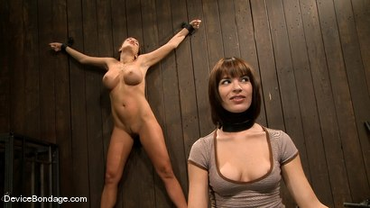 Photo number 3 from Dana DeArmond, Nika Noire and Ariel X<br>Part 1 of 4 of the May Live Feed shot for Device Bondage on Kink.com. Featuring Ariel X, Nika Noire and Dana DeArmond in hardcore BDSM & Fetish porn.