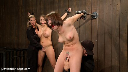 Photo number 9 from Dana DeArmond, Nika Noire and Ariel X<br>Part 1 of 4 of the May Live Feed shot for Device Bondage on Kink.com. Featuring Ariel X, Nika Noire and Dana DeArmond in hardcore BDSM & Fetish porn.