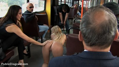 Photo number 11 from BEST OF EUROPE: Beautiful Blonde Bitch shot for Public Disgrace on Kink.com. Featuring Donna Bell and Zenza Raggi in hardcore BDSM & Fetish porn.