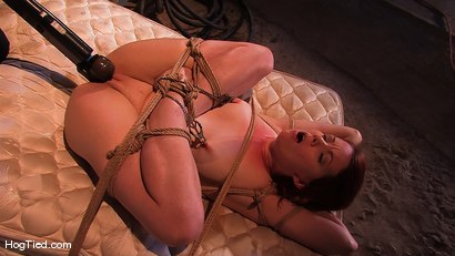 Photo number 5 from Lilla Katt:  She loves some Pain with her Pleasure shot for Hogtied on Kink.com. Featuring Lilla Katt in hardcore BDSM & Fetish porn.