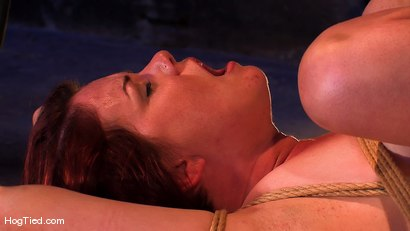 Photo number 7 from Lilla Katt:  She loves some Pain with her Pleasure shot for Hogtied on Kink.com. Featuring Lilla Katt in hardcore BDSM & Fetish porn.
