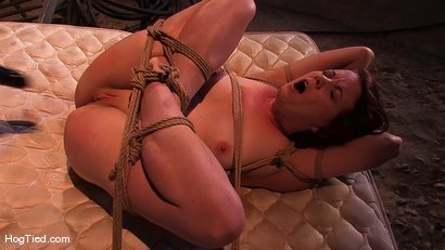 Photo number 8 from Lilla Katt:  She loves some Pain with her Pleasure shot for Hogtied on Kink.com. Featuring Lilla Katt in hardcore BDSM & Fetish porn.
