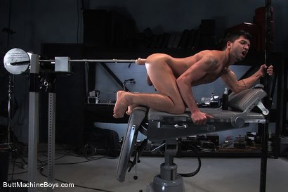 Photo number 10 from Machine Challenge: Dominic Pacifico shot for Butt Machine Boys on Kink.com. Featuring Dominic Pacifico in hardcore BDSM & Fetish porn.
