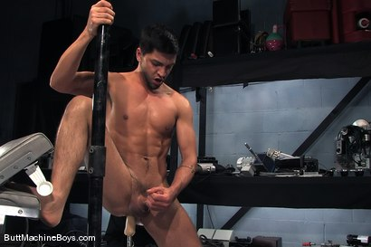 Photo number 8 from Machine Challenge: Dominic Pacifico shot for Butt Machine Boys on Kink.com. Featuring Dominic Pacifico in hardcore BDSM & Fetish porn.