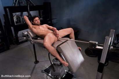 Photo number 13 from Machine Challenge: Dominic Pacifico shot for Butt Machine Boys on Kink.com. Featuring Dominic Pacifico in hardcore BDSM & Fetish porn.