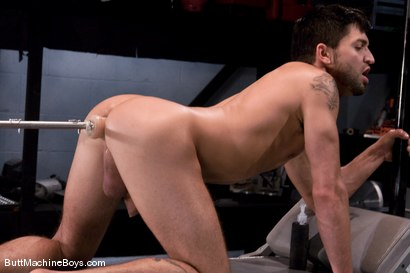 Photo number 11 from Machine Challenge: Dominic Pacifico shot for Butt Machine Boys on Kink.com. Featuring Dominic Pacifico in hardcore BDSM & Fetish porn.