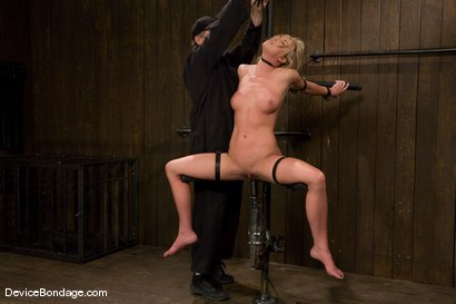 Photo number 12 from Mason<br>Former All-American Track Star<br>Local Amateur Girl shot for Device Bondage on Kink.com. Featuring Mason in hardcore BDSM & Fetish porn.