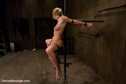 Photo number 13 from Mason<br>Former All-American Track Star<br>Local Amateur Girl shot for Device Bondage on Kink.com. Featuring Mason in hardcore BDSM & Fetish porn.