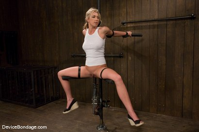 Photo number 1 from Mason<br>Former All-American Track Star<br>Local Amateur Girl shot for Device Bondage on Kink.com. Featuring Mason in hardcore BDSM & Fetish porn.