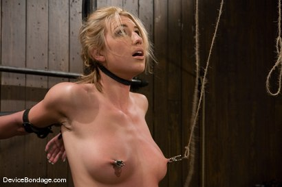 Photo number 8 from Mason<br>Former All-American Track Star<br>Local Amateur Girl shot for Device Bondage on Kink.com. Featuring Mason in hardcore BDSM & Fetish porn.