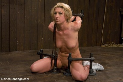 Photo number 1 from Mason<br> Former Track Star<br>Current bondage slut shot for Device Bondage on Kink.com. Featuring Mason in hardcore BDSM & Fetish porn.