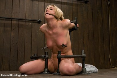 Photo number 12 from Mason<br> Former Track Star<br>Current bondage slut shot for Device Bondage on Kink.com. Featuring Mason in hardcore BDSM & Fetish porn.