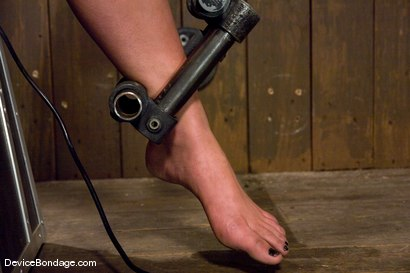 Photo number 4 from Mason<br>Former college track star bound on sybian made to cum. shot for Device Bondage on Kink.com. Featuring Mason in hardcore BDSM & Fetish porn.