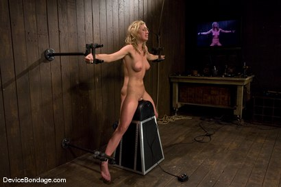 Photo number 8 from Mason<br>Former college track star bound on sybian made to cum. shot for Device Bondage on Kink.com. Featuring Mason in hardcore BDSM & Fetish porn.