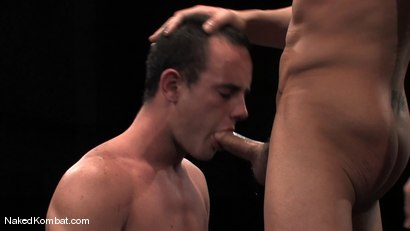 Photo number 12 from Spencer Reed vs Ty Tucker shot for Naked Kombat on Kink.com. Featuring Spencer Reed and Ty Tucker in hardcore BDSM & Fetish porn.