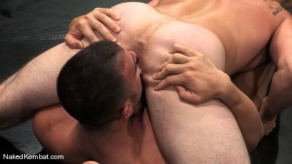 Photo number 5 from Spencer Reed vs Ty Tucker shot for Naked Kombat on Kink.com. Featuring Spencer Reed and Ty Tucker in hardcore BDSM & Fetish porn.