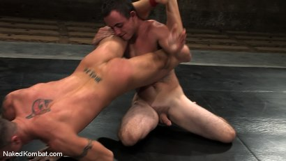 Photo number 8 from Spencer Reed vs Ty Tucker shot for Naked Kombat on Kink.com. Featuring Spencer Reed and Ty Tucker in hardcore BDSM & Fetish porn.