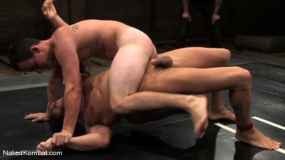 Photo number 10 from Spencer Reed vs Ty Tucker shot for Naked Kombat on Kink.com. Featuring Spencer Reed and Ty Tucker in hardcore BDSM & Fetish porn.