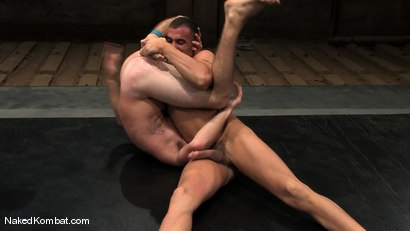 Photo number 6 from Spencer Reed vs Ty Tucker shot for Naked Kombat on Kink.com. Featuring Spencer Reed and Ty Tucker in hardcore BDSM & Fetish porn.