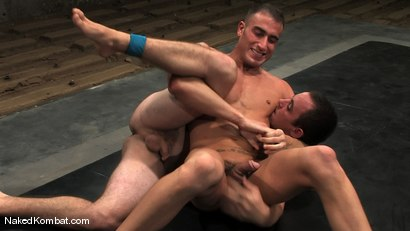 Photo number 9 from Spencer Reed vs Ty Tucker shot for Naked Kombat on Kink.com. Featuring Spencer Reed and Ty Tucker in hardcore BDSM & Fetish porn.
